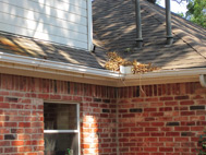 never get clogged gutters or have to clean your san antonio gutters again