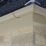 Insallation of new half round gutters, Quality Gutter Systems in Boerne tx