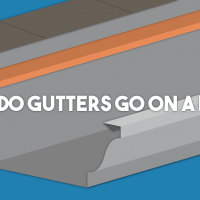 Where Do Gutters Go on a House?