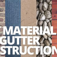 Best Material for Gutter Construction