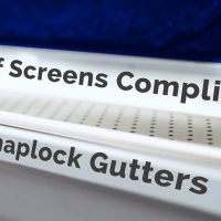 How Leaf Screens Compliment SnapLock Gutters