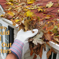 Five Reasons Why You Should Avoid Cleaning Out Your Gutters